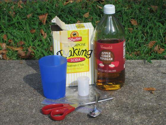 frituurpan schoonmaken soda