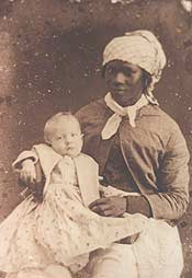 slave woman with child picture