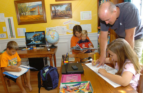 home schooling pictures