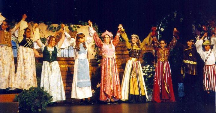 school drama performance picture
