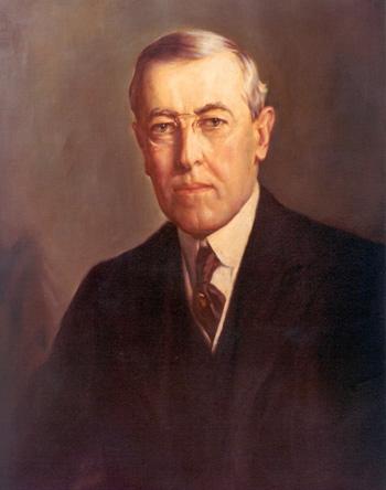 president woodrow wilson picture
