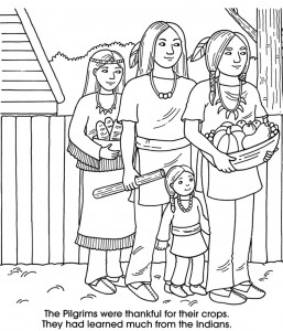 native american coloring page printable