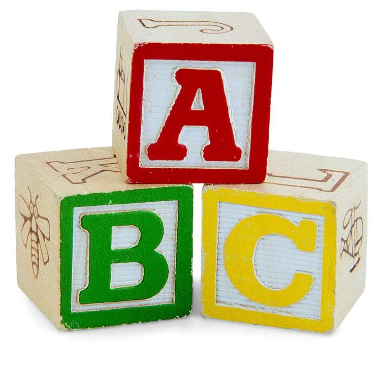 alphabet blocks picture