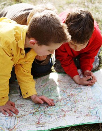 kids treasure hunt pictures