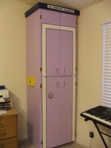 painted closet doors photo