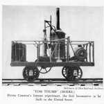 tom thumb locomotive pictures