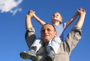 father son outdoor photos