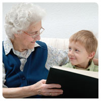 grandmother grandson pictures