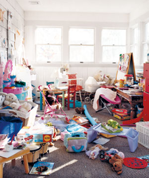 messy playroom pictures