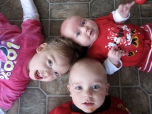 three kids photo