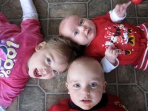 three kids photo