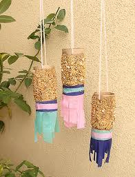 toilet paper roll bird feeder