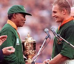 Mandela coach pienaar picture