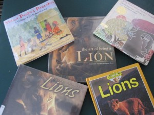Africa lions books pictures