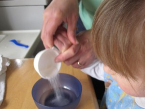 making yeast mixture