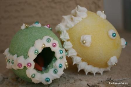 panorama sugar eggs pictures