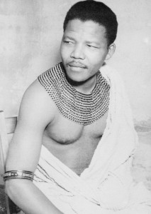 pictures of young nelson mandela