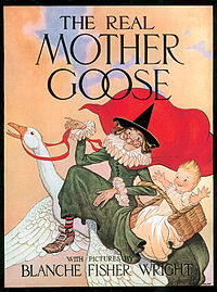 Real Mother Goose book picture
