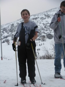 Skiing with Knights picture