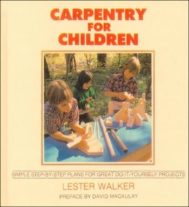 carpentry for children book picture