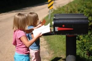 children check mailbox picture