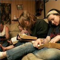 family study together images