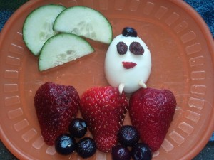 humpty dumpty theme lunch picture