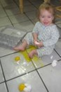 messy baby pictures
