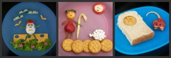 nursery rhyme themed lunch pic