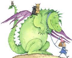 Custard the dragon picture