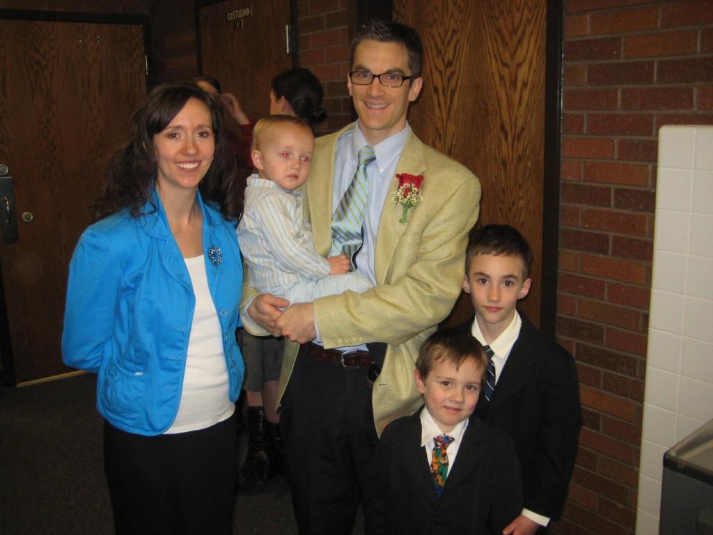 Hendrikson family photo