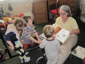 grandparent kids reading