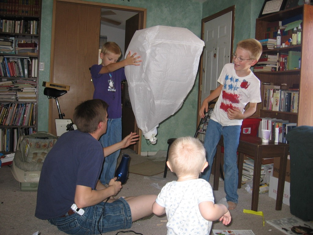 homemade parachute picture