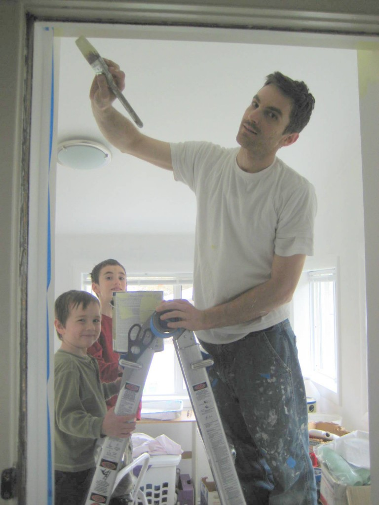 painting the wall picture