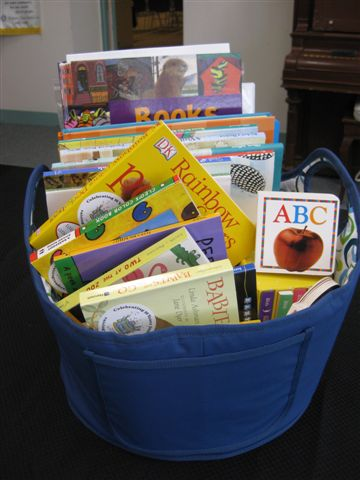basket of books picture