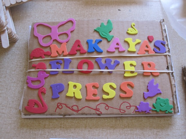 flower press picture