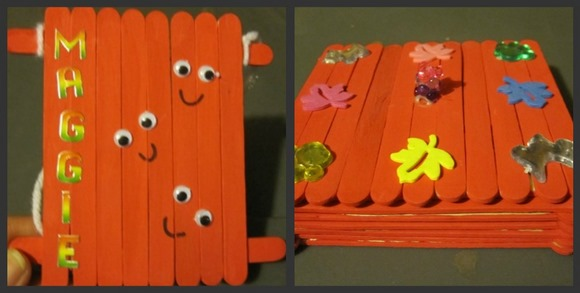 Popsicle stick crafts picture