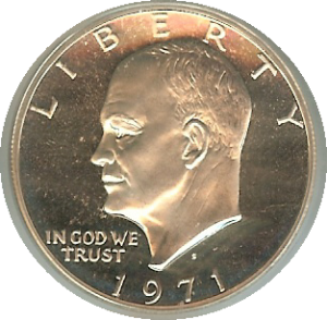 Eisenhower Silver Dollar picture