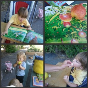 apple crafts activities pictures