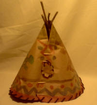 black foot tipi craft picture