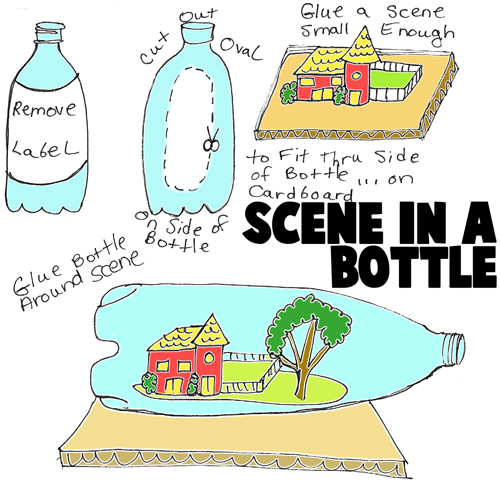 scenes in bottles picture