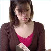 teacher reading picture