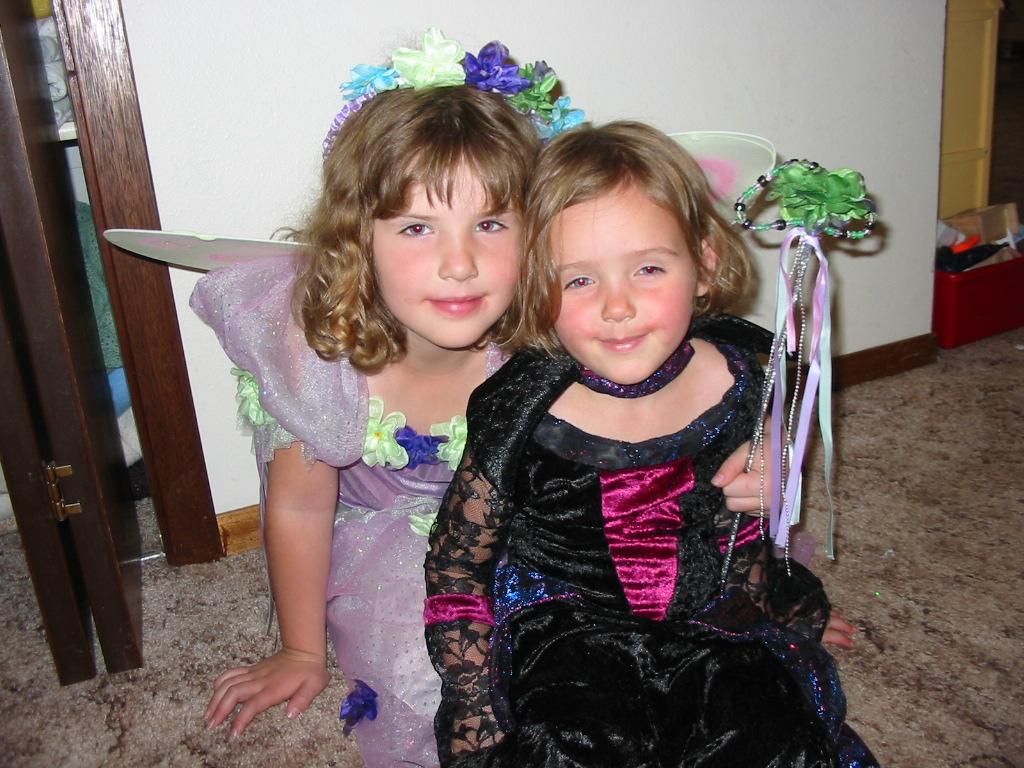 Halloween fairy girls pictures