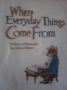 where everything comes from book pictures