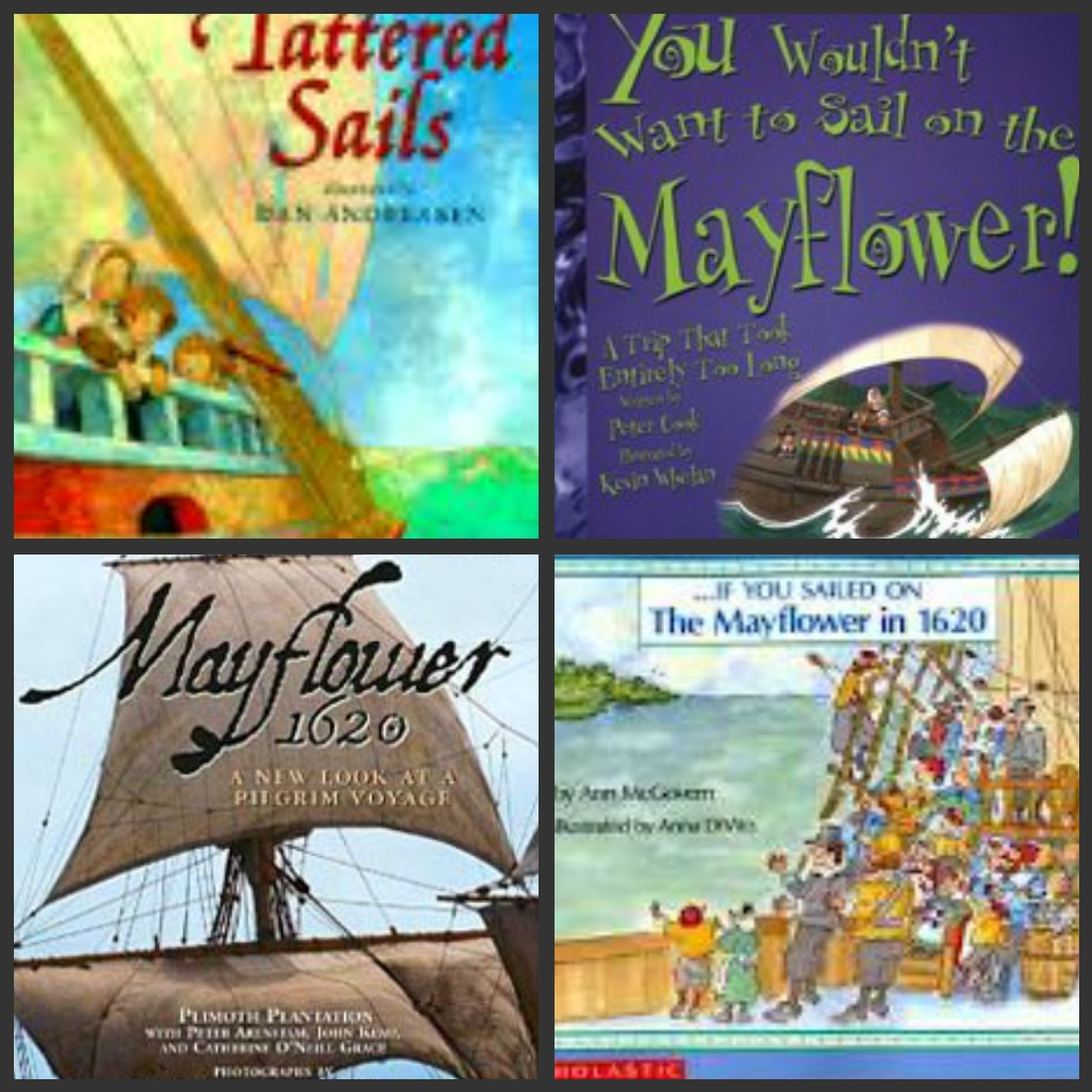 books on mayflower picture