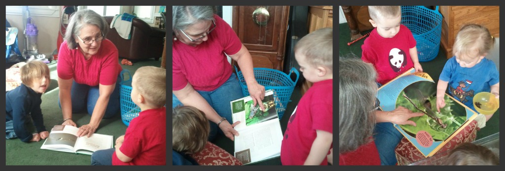 kids reading dragonfly book picture