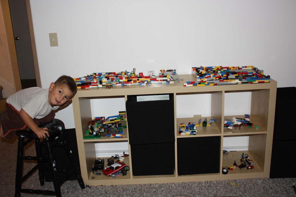 legos shelf picture