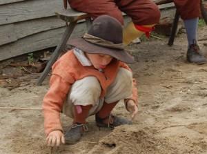 pilgrim child picture