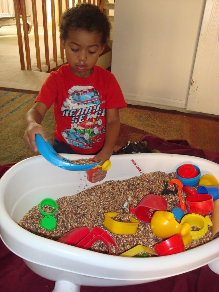 indoor rice tub picture