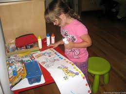 girl learning all day picture